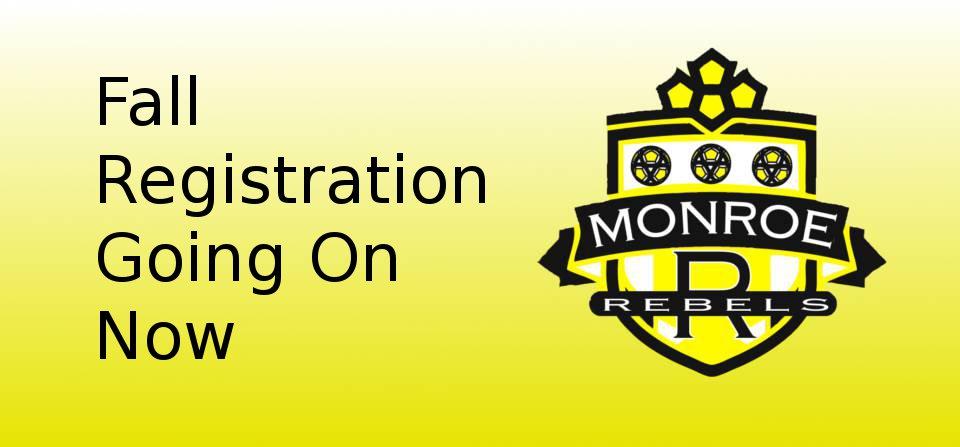 Monroe Rebels Fall Registration