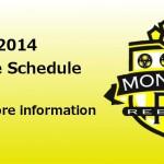 2016 Practice Schedule