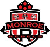 Monroe Area Rebel SC Logo